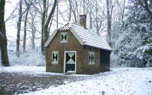 boerenwoningsneeuw